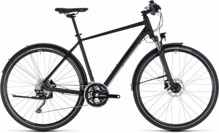 Cube Nature SL Allroad black n grey 2018 - Bicicleta Cross Hombres
