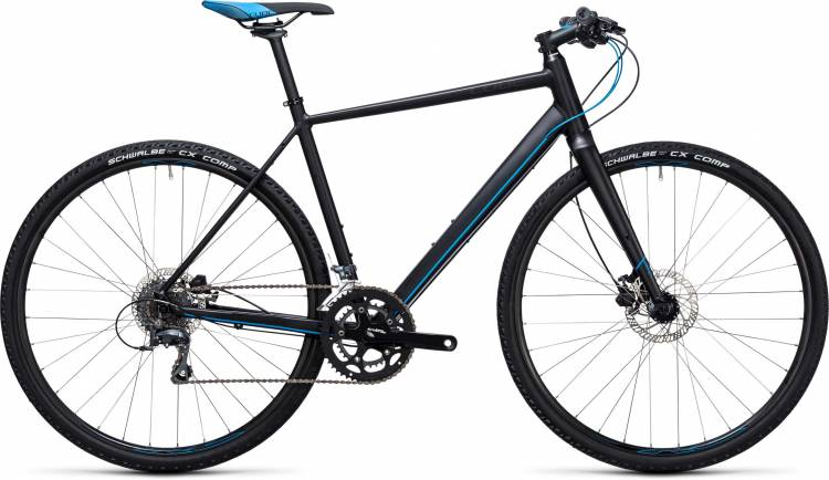 Cube SL Road black n flashblue 2017