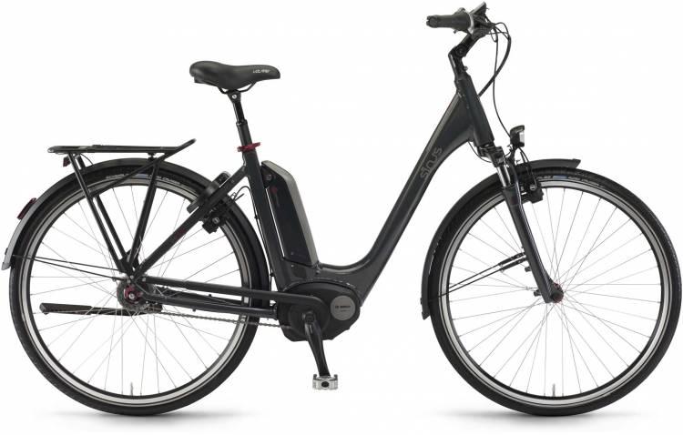 "Sinus Tria N8f 500Wh 28"" mysterypearl 2017 - Bicicleta-Eléctrica Trekking Acceso Fácil"