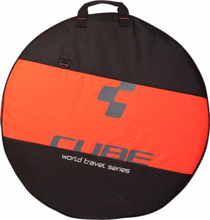 "Cube Laufradtasche 26""- 29"" 1-fach black n flashred"
