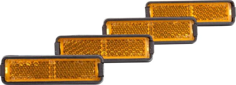 Cube RFR Set de reflectores para pedales 4 piezas