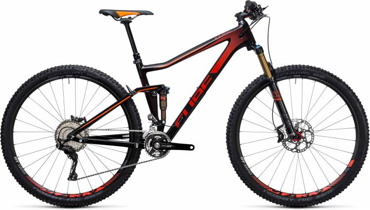 Cube Stereo 120 HPC SL 27.5/29 carbon n red 2017