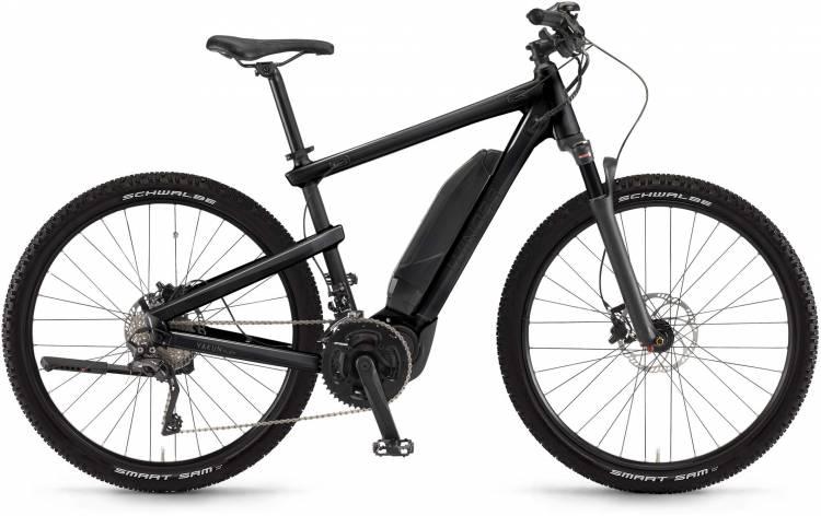 """Winora Yakun plain 500Wh 28"""" schwarz matt/glanz 2017 - Bicicleta-Eléctrica Trekking Hombres"""