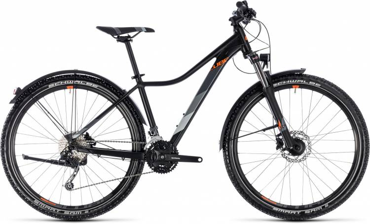 Cube Access WS Pro Allroad black n orange 2018 - MTB Rígida Damas