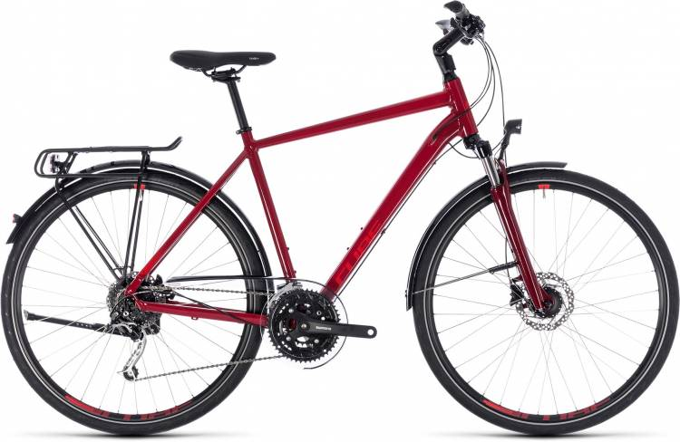 Cube Touring EXC darkred n red 2018