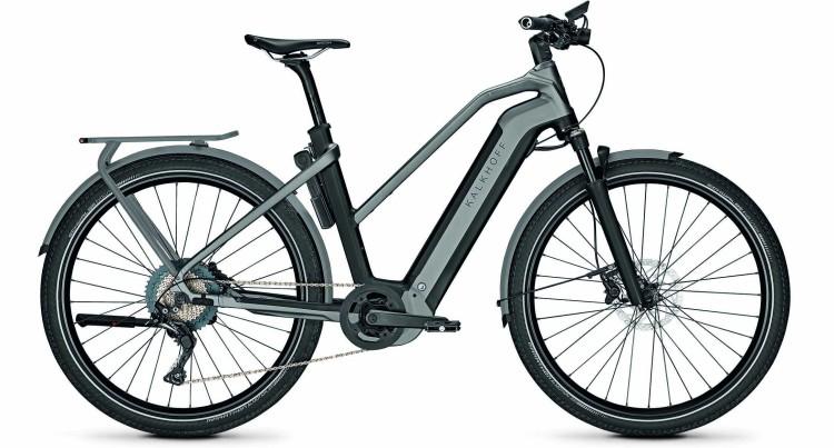Kalkhoff Endeavour 7.B Advance magicblack/jetgrey matt (Trapez) 2021 - Bicicleta-Eléctrica Trekking Damas