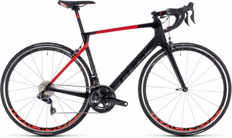 Cube Agree C:62 SL carbon n red 2018 - Bicicleta de Carrera Carbono Hombres