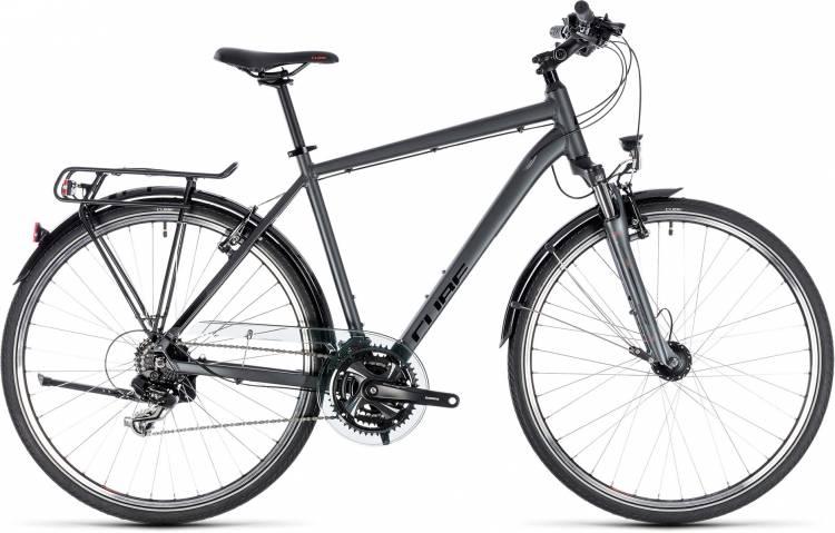 Cube Touring iridium n red 2018 - Bicicleta Trekking Hombres