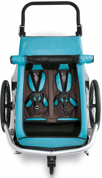 Remolque Croozer Kid Plus para dos Click & Crooz