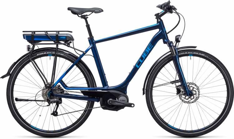 Cube Touring Hybrid 400 blue n blue 2017