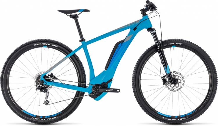 Cube Reaction Hybrid ONE 400 reefblue n blue 2018 - MTB-Eléctrica Rígida