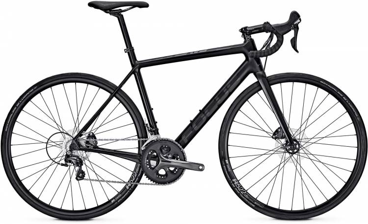 Focus Cayo Disc Tiagra carbon/black 2017