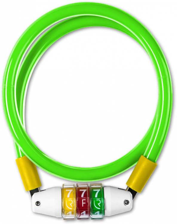 Bloqueo de cable RFR Estilo CMPT verde n amarillo