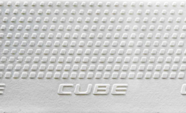 Cube Natural Fit Handlebar Tape Grip blanco