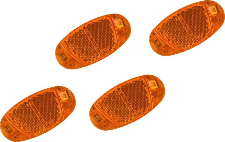 Set reflectores Cube CMPT naranja 4 piezas