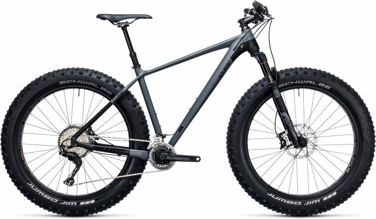 Cube Nutrail Race grey n black 2017