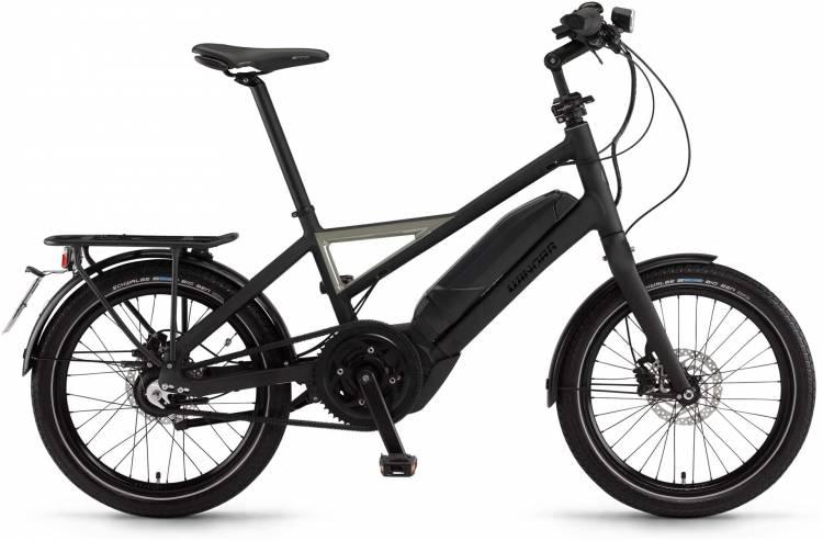 "Winora radius speed 500Wh 20"" schwarz/metal matt 2017 - Bicicleta-Eléctrica Fitness Hombres"
