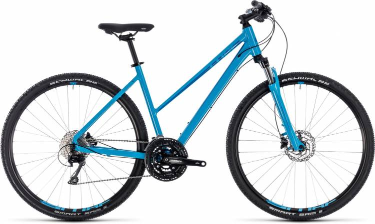 Cube Nature EXC blue n blue 2018 - Bicicleta Cross Damas Trapecio