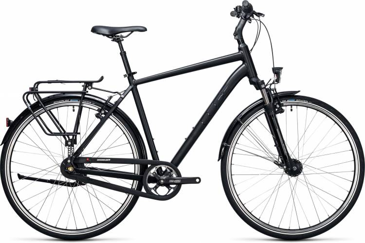 Cube Town Pro black 2017 - Bicicleta Trekking Hombres