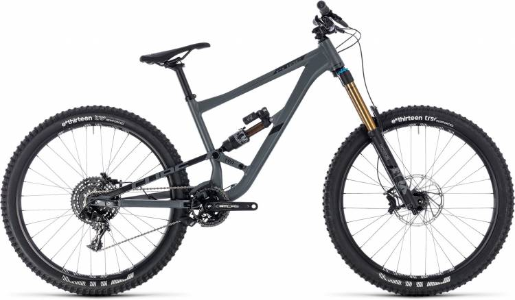 Cube Hanzz 190 TM 27.5 grey n black 2018