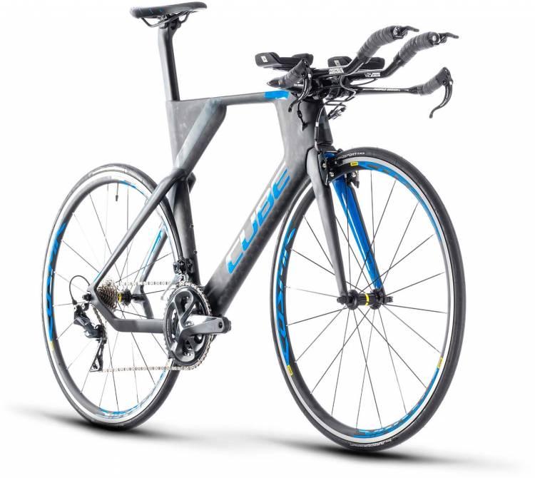 Cube Aerium Race carbon`n`blue 2020 - Bicicleta de Triatlón
