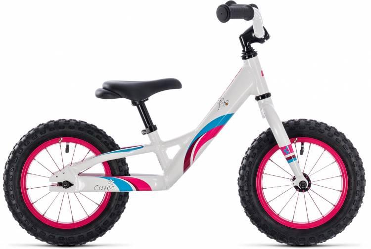 Cube Cubie 120 girl white n pink 2018 - Bicicleta sin Pedales