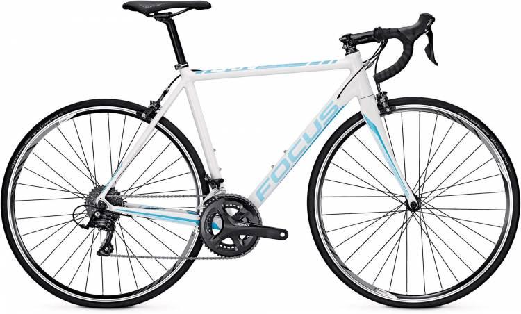 Focus Cayo Al Sora white 2017 - Bicicleta de Carrera Aluminio Hombres