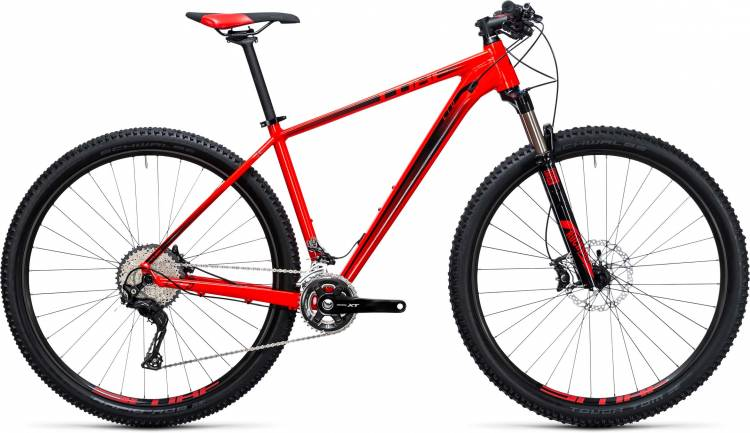 Cube LTD Race 27.5/29 2x red n black 2017