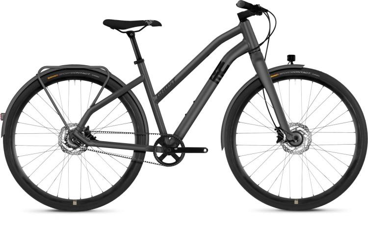 Ghost Square Urban X7.8 AL 2018 - Bicicleta Fitness Damas Trapecio