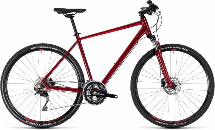 Cube Nature SL darkred n red 2018 - Bicicleta Cross Hombres