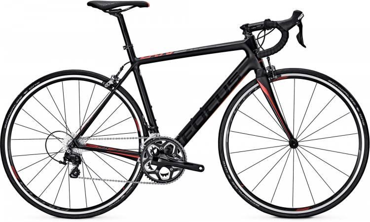 Focus Cayo 105 M carbon/red/black 2017 - Bicicleta de Carrera Carbono Hombres