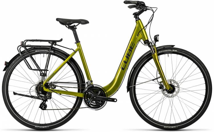 Cube Touring Pro caipi green metallic Damen - Easy Entry 2016