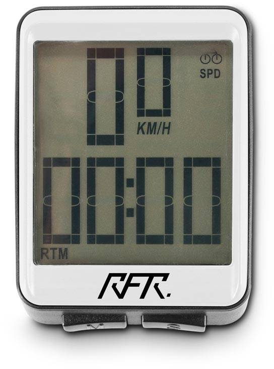 RFR Bicycle Computer inalámbrico CMPT white