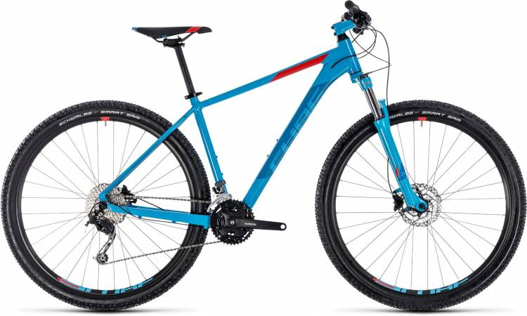 Cube Aim SL blue n red 2018 - MTB Rígida