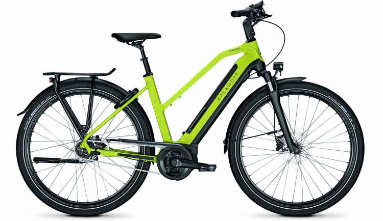 Kalkhoff Image 5.B XXL wasabigreen/magicblack matt (Trapez) 2020 - Bicicleta-Eléctrica Trekking Damas