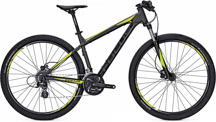 Focus Whistler Evo 29 magic black/matt 2017 - MTB Rígida