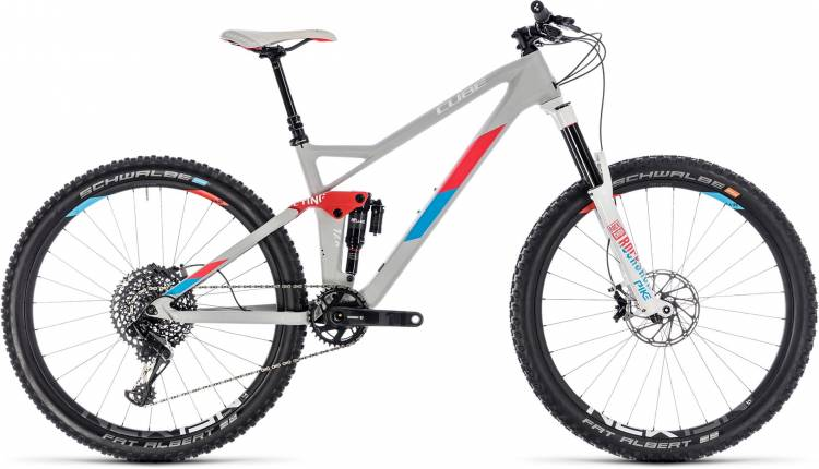 Cube Sting WS 140 HPC SL 27.5 team ws 2018 - MTB Doble Suspensión Damas