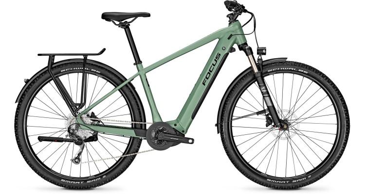 Focus Aventura2 6.7 Mineral Green 2021 - Bicicleta-Eléctrica Trekking Hombres