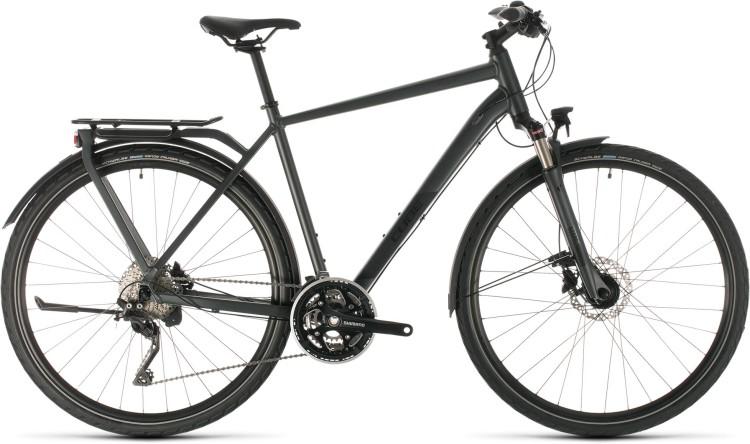 Cube Kathmandu Pro iridium n black 2020 - Bicicleta Trekking Hombres