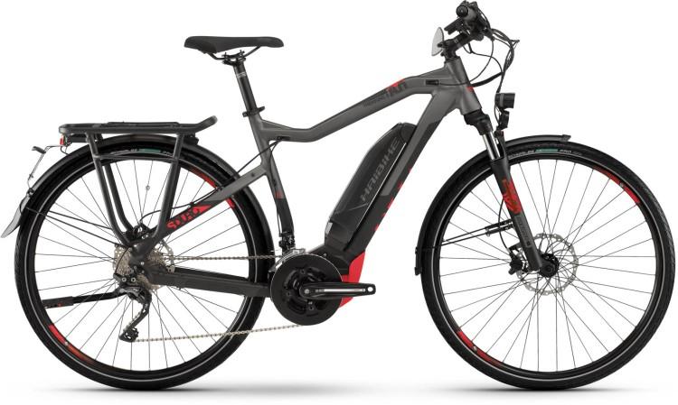 Haibike SDURO Trekking S 8.0 500Wh black/titan/red dull - Hombres 2020