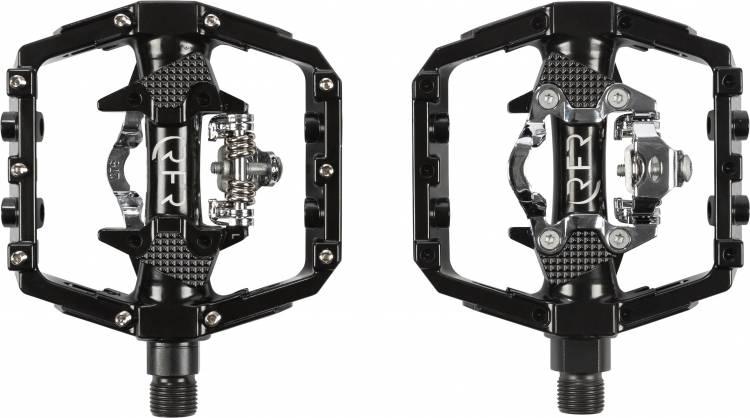 Pedales Cube RFR Flat con sistema click negros