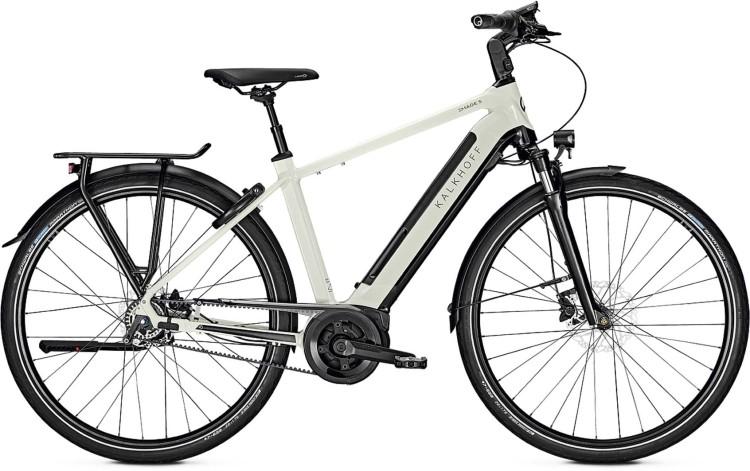 Kalkhoff Image 5.B Belt starwhite/magicblack glossy (Diamond) 2020 - Bicicleta-Eléctrica Trekking Hombres