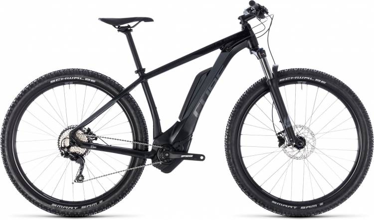 Cube Reaction Hybrid Pro 500 black n grey 2018 - MTB-Eléctrica Rígida