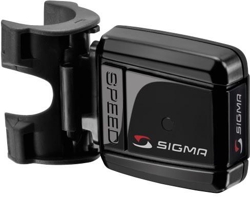 Ciclocomputadora Sigma BC 12.12 STS negra sin cables