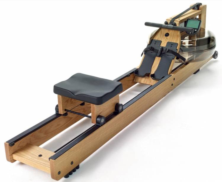 WaterRower roble con monitor