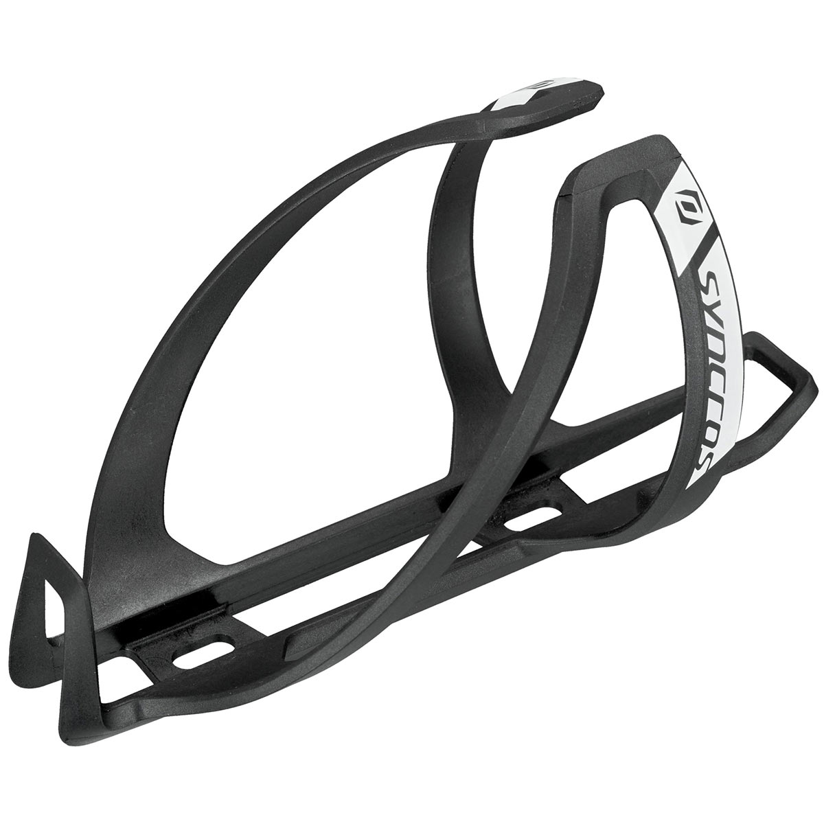 RFR sidecage universal bicicleta portabidones negro//blanco
