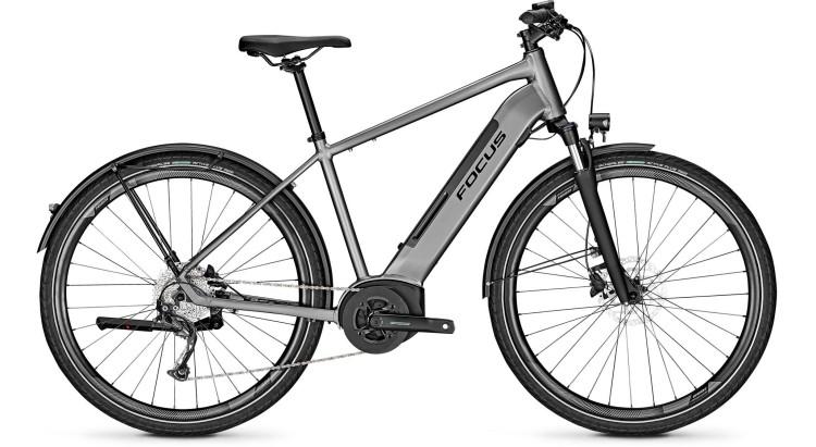Focus Planet2 5.9 Toronto Grey 2020 - Bicicleta-Eléctrica Trekking Hombres