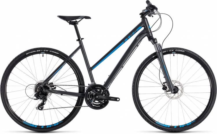 Cube Nature iridium n blue 2018 - Bicicleta Cross Damas Trapecio