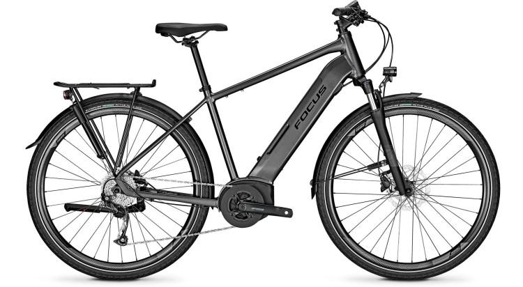 Focus Planet2 5.7 Diamond Black 2021 - Bicicleta-Eléctrica Trekking Hombres