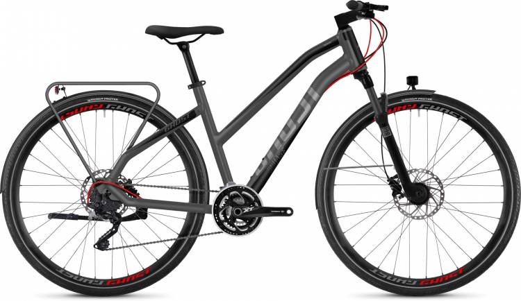 Ghost Square Trekking 8.8 AL 2018 - Bicicleta Trekking Damas Trapecio